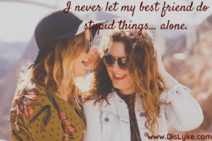 Funny Best Friends Captions for Instagram