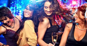 girls party captions