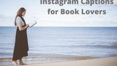 Photo of 300+ Instagram Captions for Reading Books