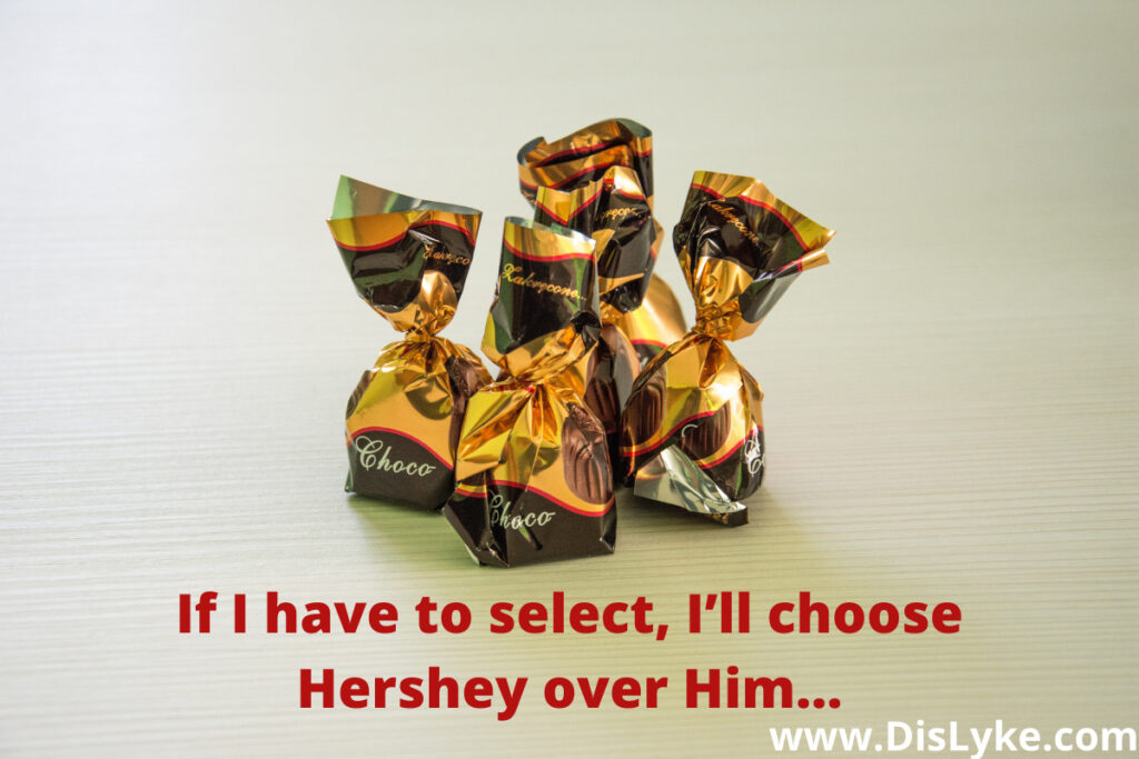 chocolate day captions for girlfriend