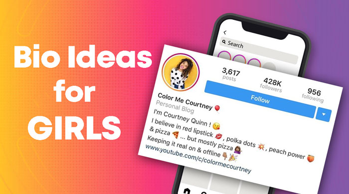 Photo of 500+ Instagram Bio for Girls – Cool, Cute, Funny, Short in 2021