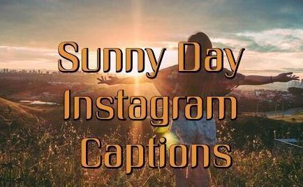 Sunny Captions for Instagram