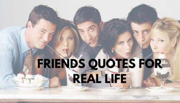 f.r.i.e.n.d.s quotes for Instagram